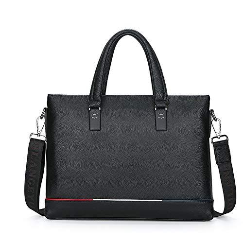 XDD Aktentasche wasserdicht Messenger Bag Satchel Schulter Crossbody Sling Working Bag Handtasche Aktentasche für Männer Reisetasche - Cabrio-leder-satchel