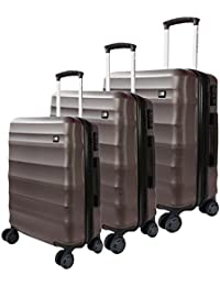 e5abb6cc973b Nasher Miles Rome Hard-Sided Luggage Set of 3 Trolley Bags (20