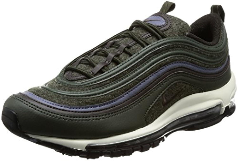 Nike Zapatos Unisex Air Max 97 Premium EN Cuero y Lana Verde 312834-300