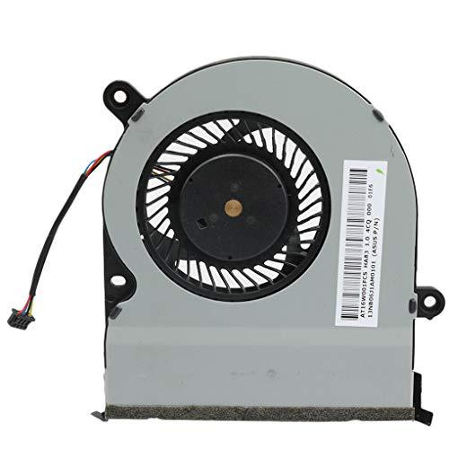 probeninmappx Ersatz für ASUS TP300L TP300LP TP300LA CPU Kühlung Kühler Lüfter Durable Notebook-Zubehör -