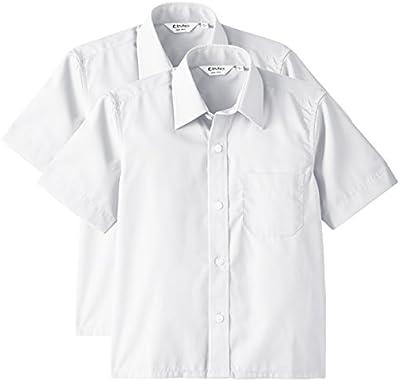 Trutex 2PK SS Non Iron Shirt - Camiseta manga corta para niños