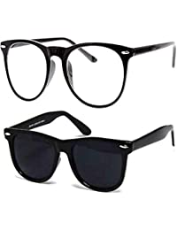 Discount Offer On UV Protected Stylish Silver Mercury Round Wayfarer Sunglasses for Men Women Boys & Girls (Black Frame Round Silver Merucry Wayfarer) - 1 Sunglass Case