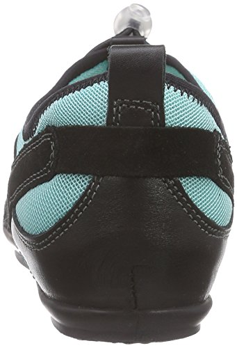 Salamander Limona, Baskets Basses femme Multicolore - Mehrfarbig (black,türkis 21)