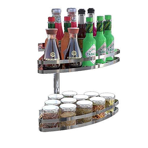 Mutang rack a forma di ventaglio portasciugamani a parete supporto per treppiedi condimento rack stoviglie salsa rack accessori per cucine angoli angolari (colore : a)