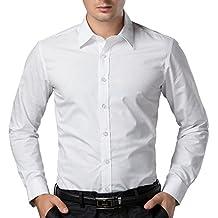 Paul Jones® Herren Casual Slim Fit Langarm Hemd GD5252