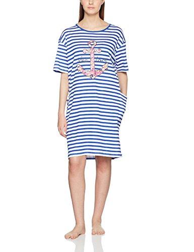 Melissa Brown Damen Nachthemd AfLoveBigGt Bleu BLANC/MARINE -zum ...