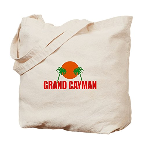 CafePress Grand Cayman Tragetasche, canvas, khaki, M - Diva Trockner
