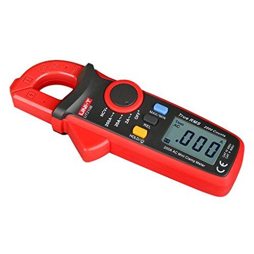 Unit Digital Clamp (Flushzing Uni-T UT210B NCV-Test Mini Digital Clamp Meter Multimeter Tester Auto Range AC Strom 2A / 20A / 200A)