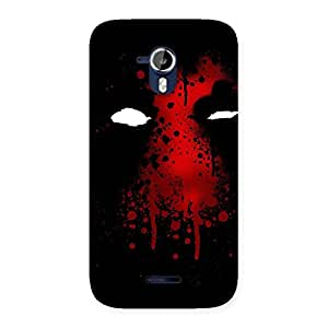 Enticing Horror Red Back Case Cover for Micromax Canvas Magnus A117