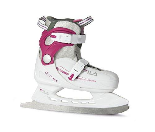Fila Mädchen Schlittschuh J-One Ice G, Weiß/Pink, 36-40, 010416225
