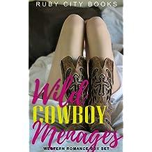 Wild Cowboy Menages: Western Romance Box Set (English Edition)