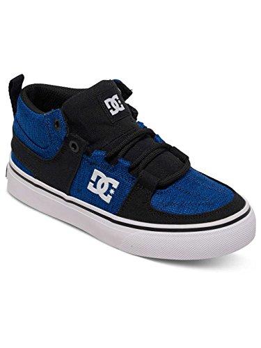 Kinder Sneaker DC Lynx Vulc Mid Tx Se Sneakers Jungen Black/Blue/White