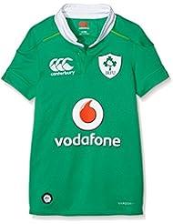 Canterbury Vapodri de Irlanda Home Pro–Camiseta–Kid de Bosphorous Verde, 14años