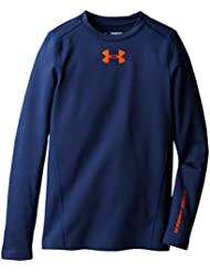 Under Armour Boys' Coldgear Evo Crew-Neck Long Sleeve Fitted Protection Layer
