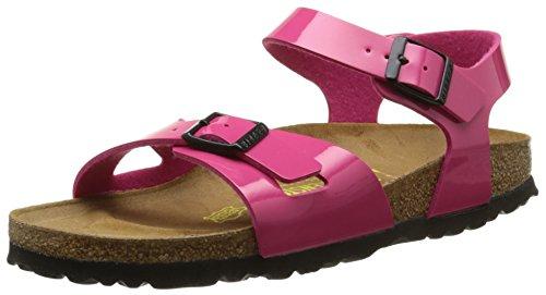 Birkenstock Rio, Unisex-Kinder Sandalen, Pink, 32 S EU