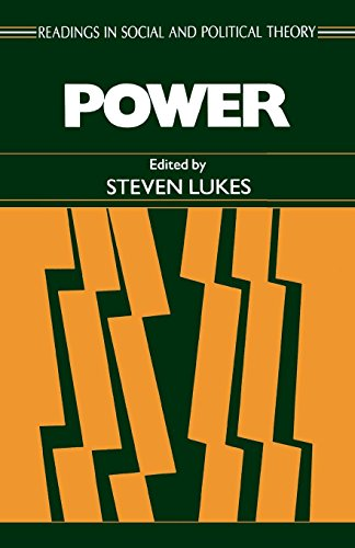 Power: A Radical View (Readings in Social & Political Therapy) por Steven Lukes
