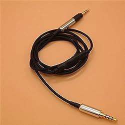 3.5à 2,5Ligne de câble de Rechange de câble de Mise à Niveau pour Sennheiser HD598HD558HD518HD595Hd579Hd599Casque Style 1