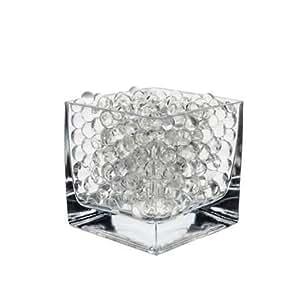 CW5 Gadgets® Gel Balls Water Beads 1kg / 500g / 250g / 50g packs (50 Grams, Clear)