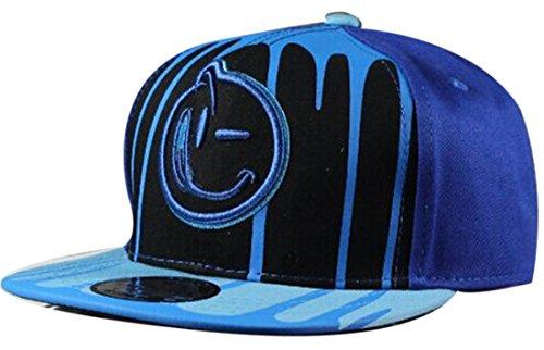 Belsen Kind habgierig Hip-Hop Cap Baseball Kappe Hut Truckers Hat (Tuch blau)