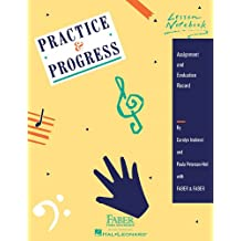 Practice & Progress Lesson Notebook: Assignment and Evaluation Record