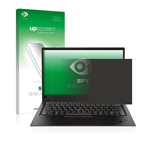 upscreen Anti-Spy Blickschutzfolie kompatibel mit Lenovo ThinkPad X1 Carbon (6. Generation) Privacy Screen Displayschutzfolie - Sichtschutz, Kratzfest