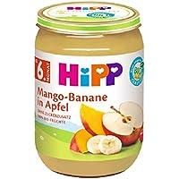 HiPP Früchte, Mango-Banane in Apfel, 1er Pack (1 x 190 g)