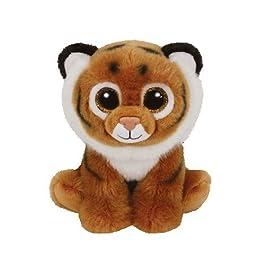 Ty Beanie Babies Classic Tiggs, tigre in morbido peluche da 15 x 33 cm