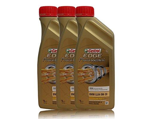 3x1 LiterCastrol EDGE Professional 0W-30 BMW LL04, Longlife 04