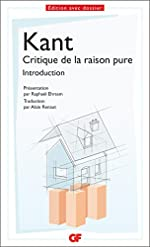 Introduction de la critique de la raison pure de Emmanuel Kant
