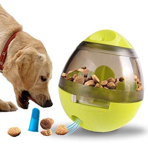 Bola de comida,Tatata Dispensador de comida Alimentador de comida juguete de forrajeo para perros