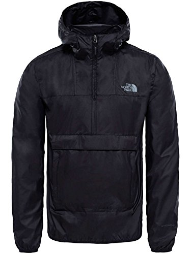 The North Face M fanorak TNF Black Typ Anorak, Jacke XL TNF Schwarz (North Track Jacket Face)
