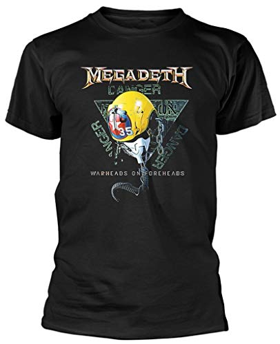 Megadeth 'VC35 Triangle' (Black) T-Shirt (XX-Large)