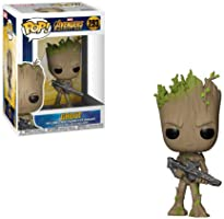 Funko 26904 - Bobble Marvel Avengers Infinity War Groot Personaggio, 9 cm