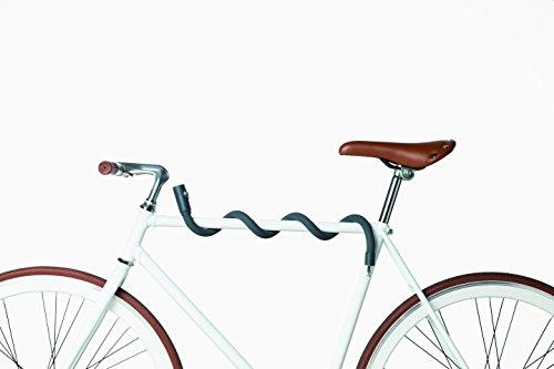 Unbekannt Lochness - Flexibles Fahrradschloss - Anthrazit (Grau)