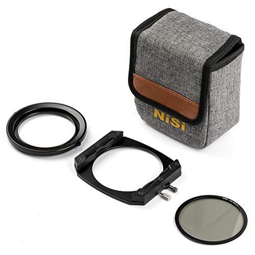 Porte Filtre NiSi M75 Système 75mm avec Filtre polarisant CPL Pro pour Appareil Photographique Hybride