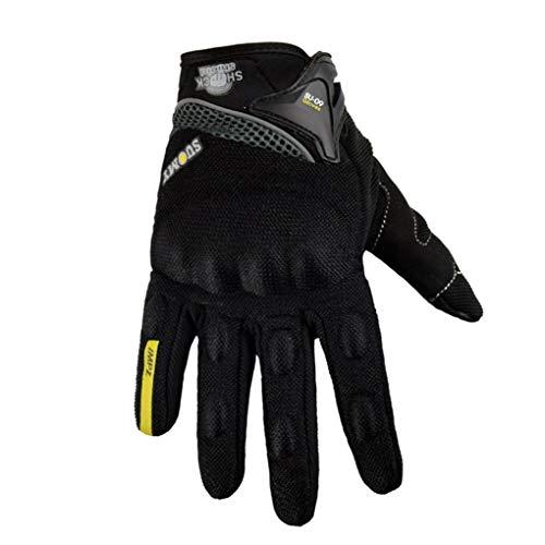 Guanti da moto Guanti da ciclismo da corsa estivi traspiranti con dita a palmo protettivo e touchs