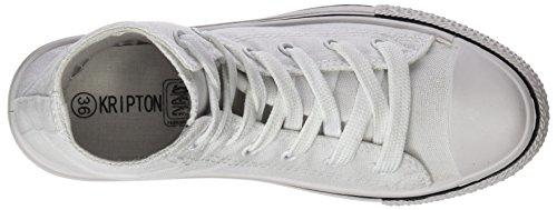 Kripton  West Alta,  Jungen Sneakers Blanco