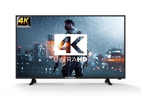 Maser 127 cm (50 inches) 50MS4000A25 4K UHD LED Smart TV (Black)