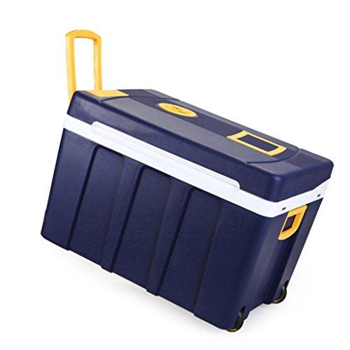 JCOCO Mini frigorífico 50L y azul más cálido