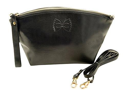 Farfalla Convertible Croce Corpo Incluso con portafoglio Nero