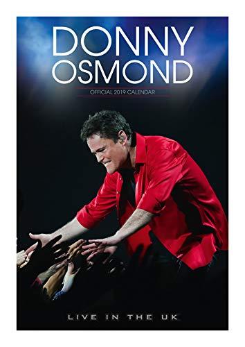 Donny Osmond Official 2019 Calendar - A3 Wall Calendar Format