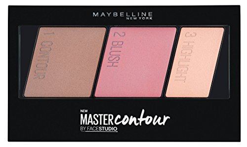 Maybelline New York Face Studio Master Contour Palette, Light to Medium, 10g
