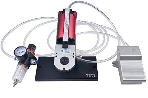 PRECISETOOL KIT4010: YJQ-W1Q Pneumatic Crimp Tool & SK2/2 Positioner & BM-2 Adjustable Base Mount & F2 air control system to crimp Connector Contacts -
