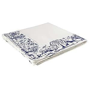 Authentics Table Stories Nappe L, Reindeer World avec Bords, Bleu, 240x140 cm, 6310269