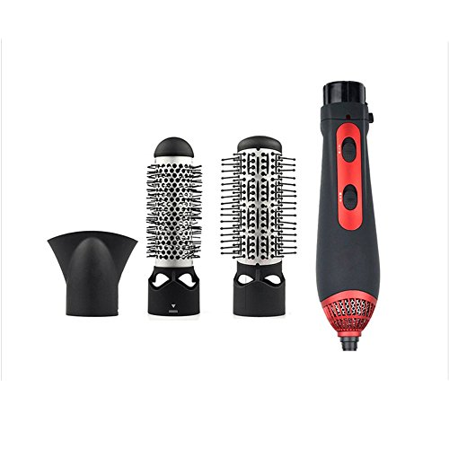 3 in 1 Heißluft-Kamm-Multifunktions-Haartrockner elektrische Lockenwickler gerade Haarglätter Dual-Use nass und trocken