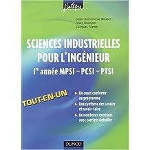 Sciences industrielles pour l'ingénieur 1re année MPSI-PCSI-PTSI