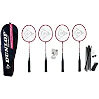 Dunlop NanoMax Pro Premium 4 Player Badminton Set