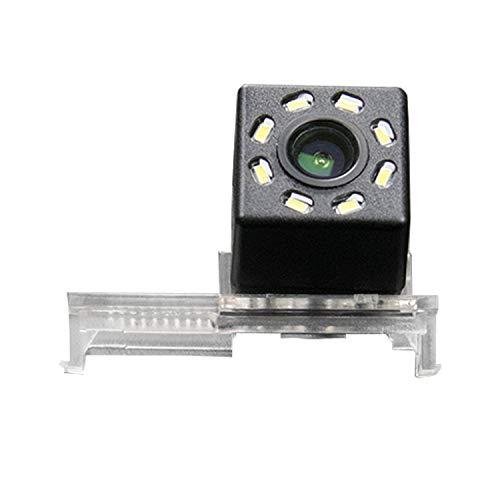Caméra de recul HD 720p pour écrans universels (RCA) pour Peugeot 12 3008, 308, 408, 508, 12, Citroën C5, 12 C4, C-Quatre, C2, 11 Elysee, Renault Koleos 2