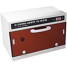 wenrit Calentador de toallas UV esterilizador, calentador eficaz en caliente, armario de belleza,