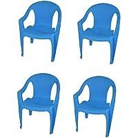 Tavolo 4 Sedie Da Giardino.Sedie Per Tavolo Da Giardino Arredamento Flow Set 4 Sedie In